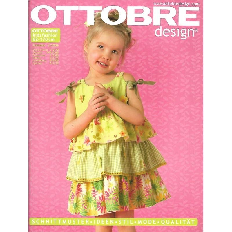Ottobre Kids Fashion Sommer 3/2006 - 62 bis 170 cm