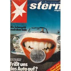 stern Heft Nr.12 / 11 März 1976 - Frißt uns das Auto auf?