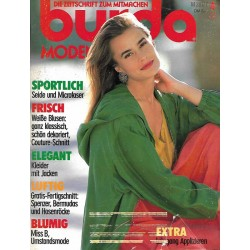 burda Moden 4/April 1991 - Sportlich