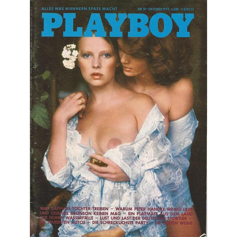 Playboy Nr.10 / Oktober 1975 - Agneta Eckemyr, Zoe Z.