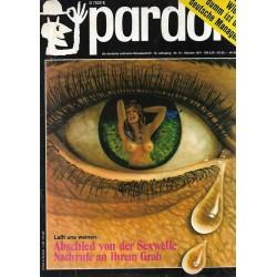 pardon Heft 10 / Oktober 1971 - Laßt uns Weinen