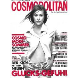 Cosmopolitan 4/April 1994 - Nathane / Glücksgefühle