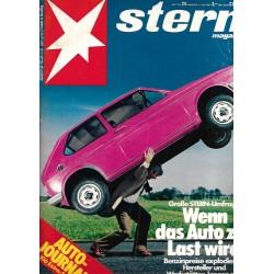 stern Heft Nr.24 / 4 Juni 1980 - Wenn das Auto zur Last wird