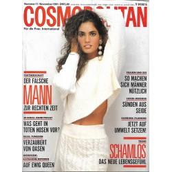 Cosmopolitan 11/November 1991 - Carmen / Schamlos