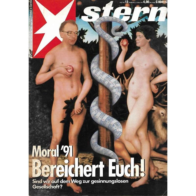 stern Heft Nr.13 / 21 März 1991 - Bereichert Euch!