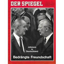 Der Spiegel Nr.19 / 1 Mai 1967 - Bedrängte Freundschaft