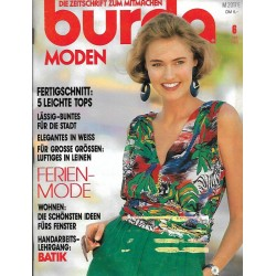 burda Moden 6/Juni 1990 - Bunte, lässige Citymode