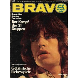 BRAVO Nr.29 / 12 Juli 1972 - Mick Jagger
