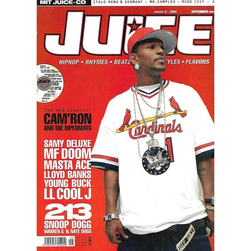 JUICE Nr.67 September / 2004 & CD 45 - Camron