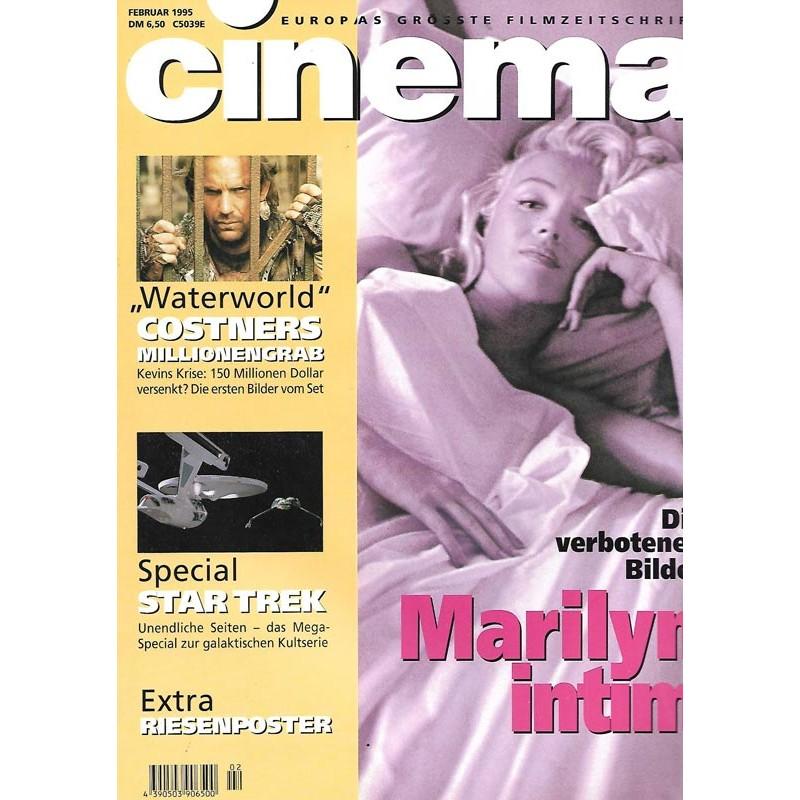 CINEMA 2/95 Februar 1995 - Marilyn intim