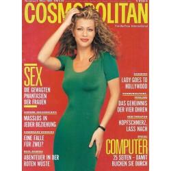 Cosmopolitan 3/März 1992 - Amber / Sex