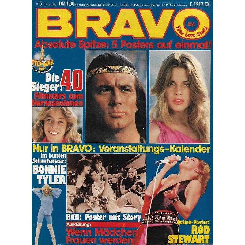 BRAVO Nr.5 / 26 Januar 1978 - Stars