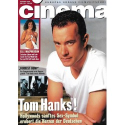 CINEMA 10/94 Oktober 1994 - Tom Hanks!