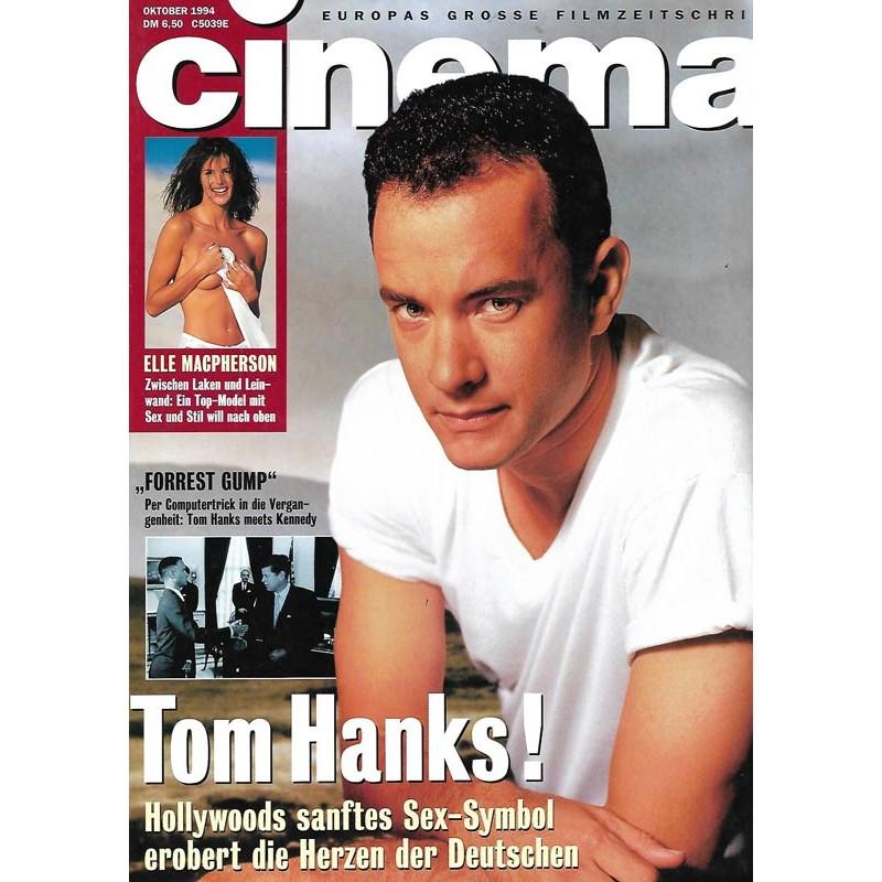 CINEMA 10/94 Oktober 1994 - Tom Hanks!