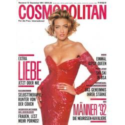 Cosmopolitan 12/Dezember 1991 - Tatjana / Liebe