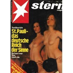 stern Heft Nr.24 / 8 Juni 1978 - St. Pauli das Reich der Sinne