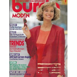 burda Moden 3/März 1991 - Internationale Trends