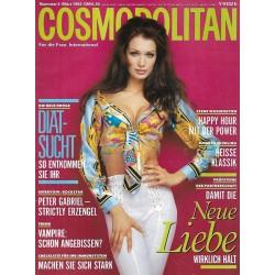 Cosmopolitan 3/März 1993 - Angelica Kallio / Neue Liebe