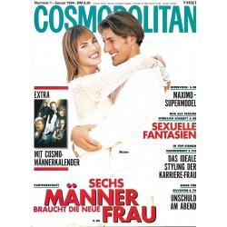 Cosmopolitan 1/Januar 1994 - Maximo & Dawyna / Sexuelle Fantasien