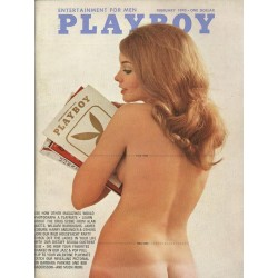 Playboy USA Nr.2 / Februar 1970 - Model Norma Bauer