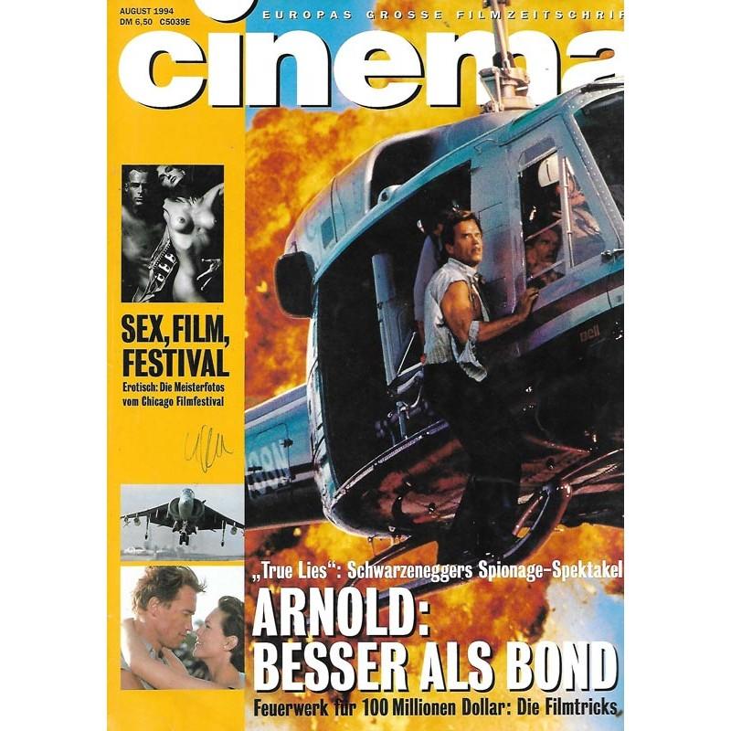 CINEMA 8/94 August 1994 - True Lies