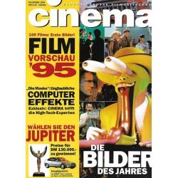 CINEMA 12/94 Dezember 1994 - Die Bilder des Jahres