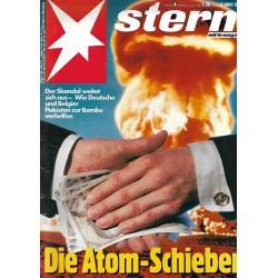 stern Heft Nr.4 / 21 Januar 1988 - Die Atom Schieber