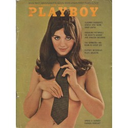 Playboy USA Nr.4 / April 1969 - Sharon Kristie