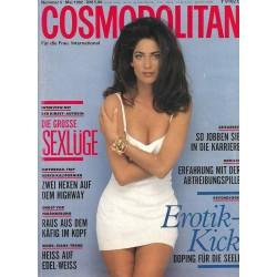 Cosmopolitan 5/Mai 1992 - Carmen Carmen / Sexlüge