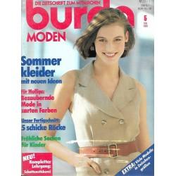 burda Moden 5/Mai 1990 - Sommerkleider