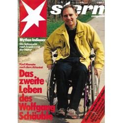 stern Heft Nr.15 / 4 April 1991 - Wolfgang Schäuble