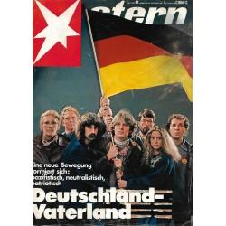 stern Heft Nr.44 / 22 Oktober 1981 - Deutschland Vaterland