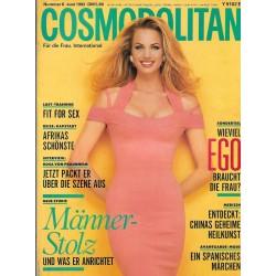 Cosmopolitan 6/Juni 1992 - Joanna / Männerstolz