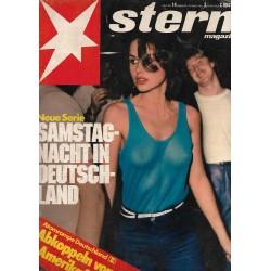 stern Heft Nr.14 / 26 März 1981 - Samstag Nacht in Deutschland