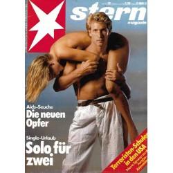 stern Heft Nr.28 / 4 Juli 1985 - Solo für zwei