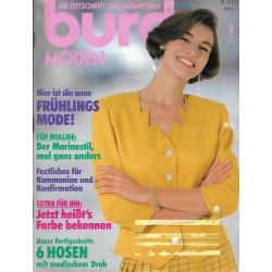 burda Moden 2/Februar 1990 - Frühlingsmode