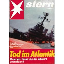 stern Heft Nr.20 / 13 Mai 1982 - Tod im Atlantik