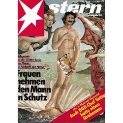 stern Heft Nr.21 / 19 Mai 1982 - Frauen nehmen den Mann in Schutz