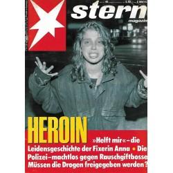 stern Heft Nr.45 / 3 November 1988 - Heroin