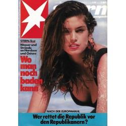 stern Heft Nr.26 / 22 Juni 1989 - Wo man noch Baden kann