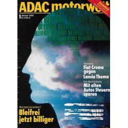 ADAC Motorwelt Heft.1 / Januar 1986 - Bleifrei jetzt billiger
