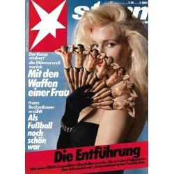 stern Heft Nr.17 / 17 April 1986 - Mit den Waffen einer Frau