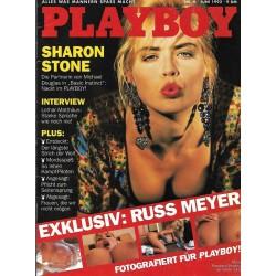 Playboy Nr.6/ Juni 1992 - Sharon Stone