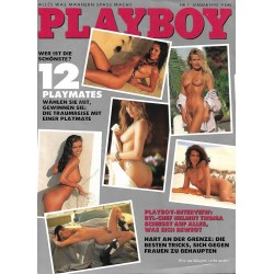 Playboy Nr.1 / Januar 1992 - 12 Playmates