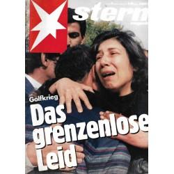 stern Heft Nr.9 / 21 Februar 1991 - Das grenzenlose Leid
