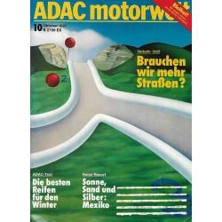 ADAC Motorwelt Heft.10 / Oktober 1985 - Verkehr 1990