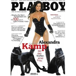 Playboy Nr.2 / Februar 2007 - Alexandra Kamp