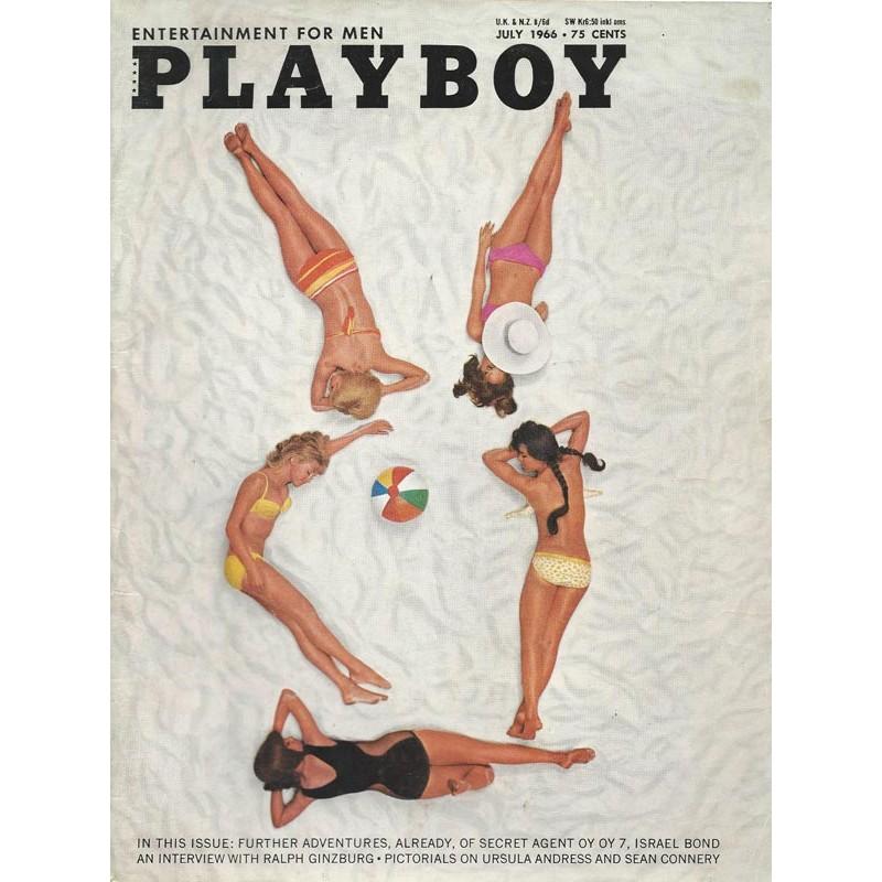 Playboy USA Nr.7 / Juli 1966 - Penny James, Patti Reynolds, Joann Russell, Barbara Shaw, Joey Thorpe