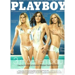 Playboy Nr.9 / September 2007 - 3 machen blau