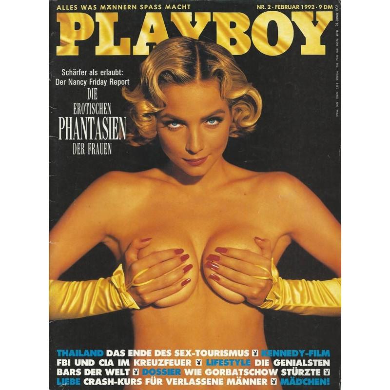 Playboy Nr.2 / Februar 1992 - Rachel Williams